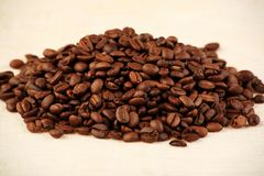 Coffee pile Stock Image
