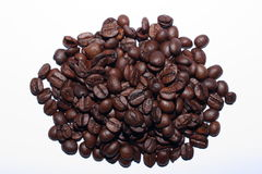 Coffee. A pile of coffee beans Royalty Free Stock Images