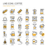 Coffee , pixel perfect icon Royalty Free Stock Images