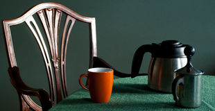 Coffee place setting Stock Photos