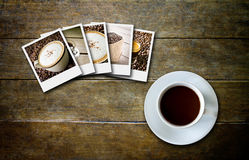 Coffee and film Royalty Free Stock Image