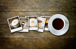 Coffee and film Stock Photos