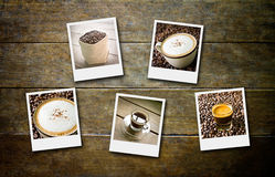 Coffee and film Royalty Free Stock Images