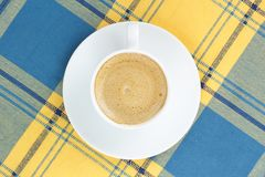 Coffee in a porcelain dish Stock Photos