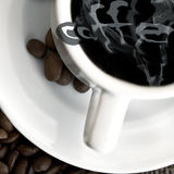 Coffee poster Royalty Free Stock Photography