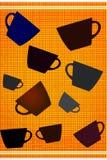 Coffee poster Stock Photo