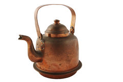 Coffee pot. Isolated coffee pot Stock Photos