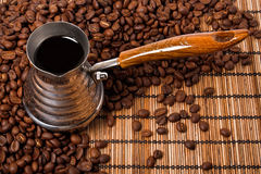 Coffee pot Stock Photography