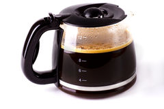 Coffee pot royalty free stock photos