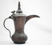Coffee Pot. Traditional Antique Arab Coffee Pot Stock Photo