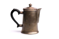 Coffee pot. Isolated on white background Stock Image