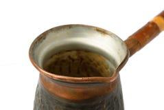 Coffee pot closeup Stock Photo