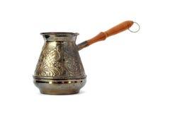 Coffee pot isolated Stock Photo