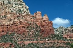 Coffee Pot Rock In Sedona Arizona Stock Photo