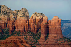 Coffee Pot Rock- Sedona, AZ Stock Images