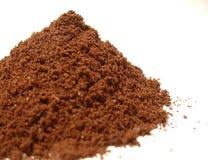 Coffee powder 2. Some coffee poder on white background stock photo