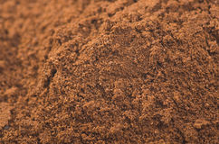 Coffee powder Stock Photography
