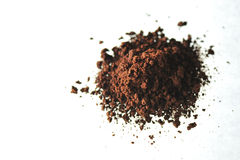 Coffee Powder. A close up picture of coffee powder Royalty Free Stock Images