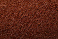 Coffee powder background Stock Photos