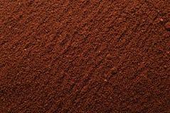 Coffee powder background. Brown coffee powder background texture stock photos