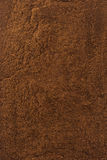 Coffee powder background texture. Coffee powder as background texture stock photography