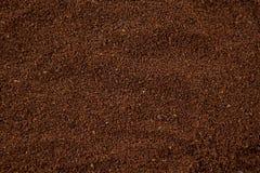 Coffee powder. Full frame of coffee powder Stock Photography