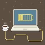 Coffee power Stock Photo