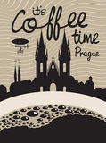 Coffee prague Royalty Free Stock Image