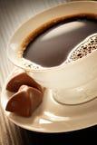 Coffee with pralines Stock Photo