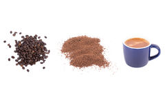 Coffee processing Royalty Free Stock Photography