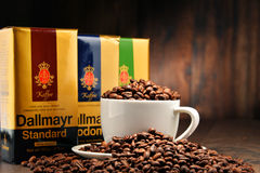 Coffee products of Alois Dallmayr Royalty Free Stock Photos
