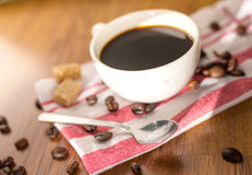 Coffee products. Coffee brake,coffee beens and smell of coffee Royalty Free Stock Image
