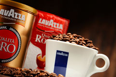 Coffee products of Lavazza Royalty Free Stock Image
