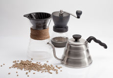 Coffee props Stock Photo
