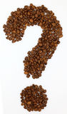 Coffee question Stock Photography