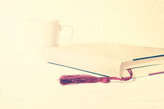 Coffee reading Royalty Free Stock Images