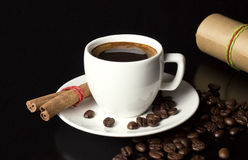 Coffee recipe Royalty Free Stock Image