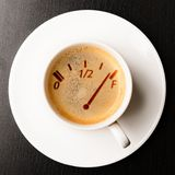Coffee refill Royalty Free Stock Photos