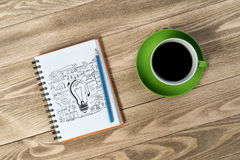 Coffee refreshment break Royalty Free Stock Photo