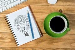 Coffee refreshment break Stock Photography