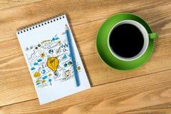 Coffee refreshment break Stock Images
