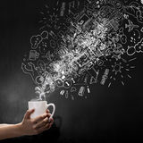 Coffee refreshment Royalty Free Stock Photography