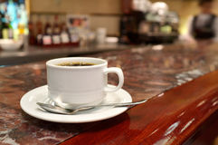 Coffee at restaurant. Royalty Free Stock Photo