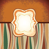 Coffee - retro antique template. Label Royalty Free Stock Photo