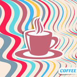 Coffee retro design Royalty Free Stock Image