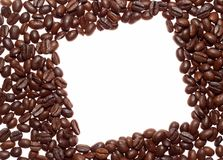 Coffee rhombus Stock Photography