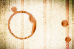 Coffee ring Stock Photography