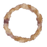 Coffee Ring Stain Stock Image