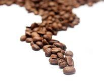Coffee road Stock Image
