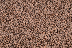Coffee. Roasted coffee bean beans background Stock Images